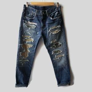 Ralph Lauren Denim & Supply Fiske Boyfriend Jeans